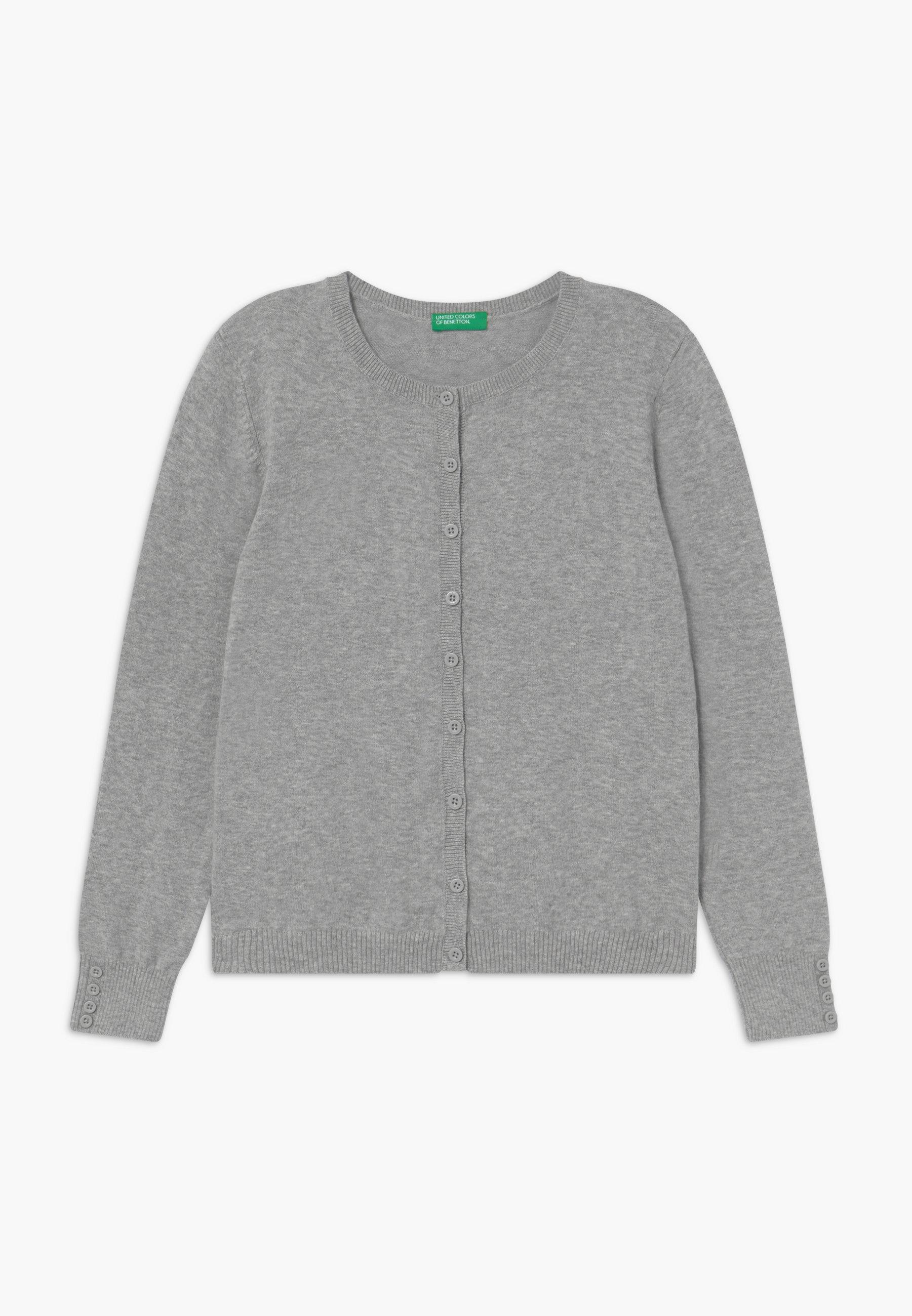Große Förderung Benetton Strickjacke - grey | Damenbekleidung 2020
