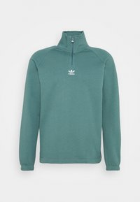 adidas Originals - TREFOIL UNISEX - Sweatshirt - hazy emerald - 5