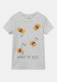 Name it - NMFDASA - Print T-shirt - light grey melange - 0