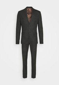 Isaac Dewhirst - CHECK SUIT SET - Garnitur - grey - 11