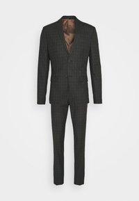 CHECK SUIT SET - Suit - grey