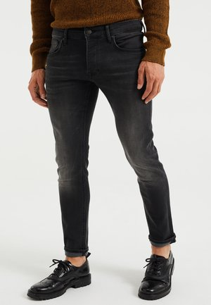 HEREN SLIM FIT - Slim fit jeans - black