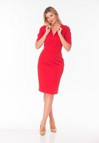 Diyas London - Shift dress - red - 1