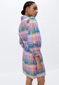Uterqüe - Shirt dress - pink - 2