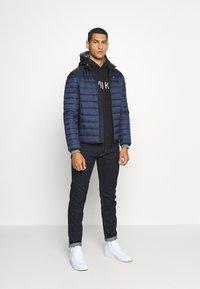 Calvin Klein - LIGHT WEIGHT SIDE LOGO JACKET - Light jacket - blue - 1