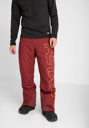 CEDAR RIDGE PANT - Skibukser - oxblood red