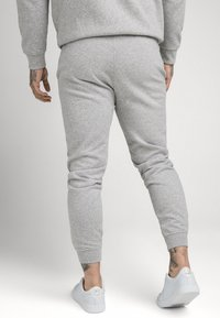 SIKSILK - MUSCLE FIT JOGGER - Tracksuit bottoms - grey marl - 2