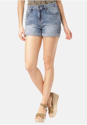 MANA - Denim shorts - blue