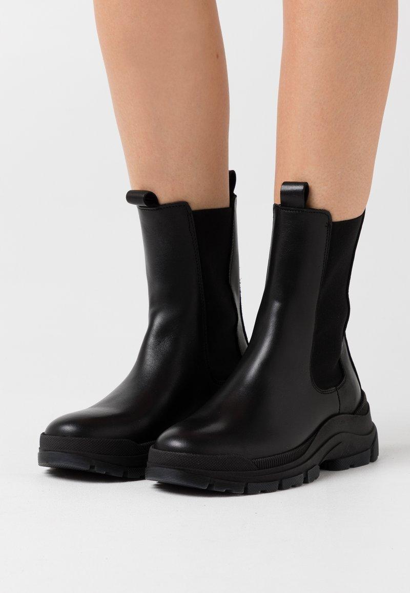 Marc O'Polo - MAIA - Platform ankle boots - black
