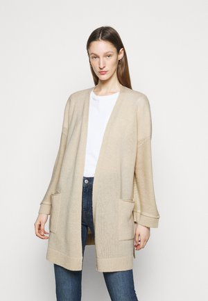 CARDIGAN LONG - Cardigan - oatmeal