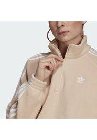 adidas Originals - FLEECE HZ - Fleece jumper - halo blush/white - 4