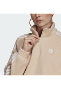 adidas Originals - FLEECE HZ - Sweat polaire - halo blush/white - 4