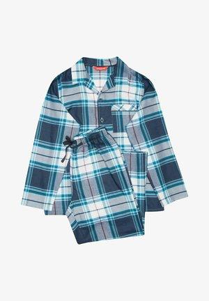 SET - Pyjamas - navy/blue checks