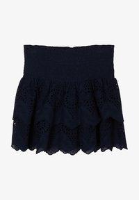s.Oliver - Mini skirt - blue - 1