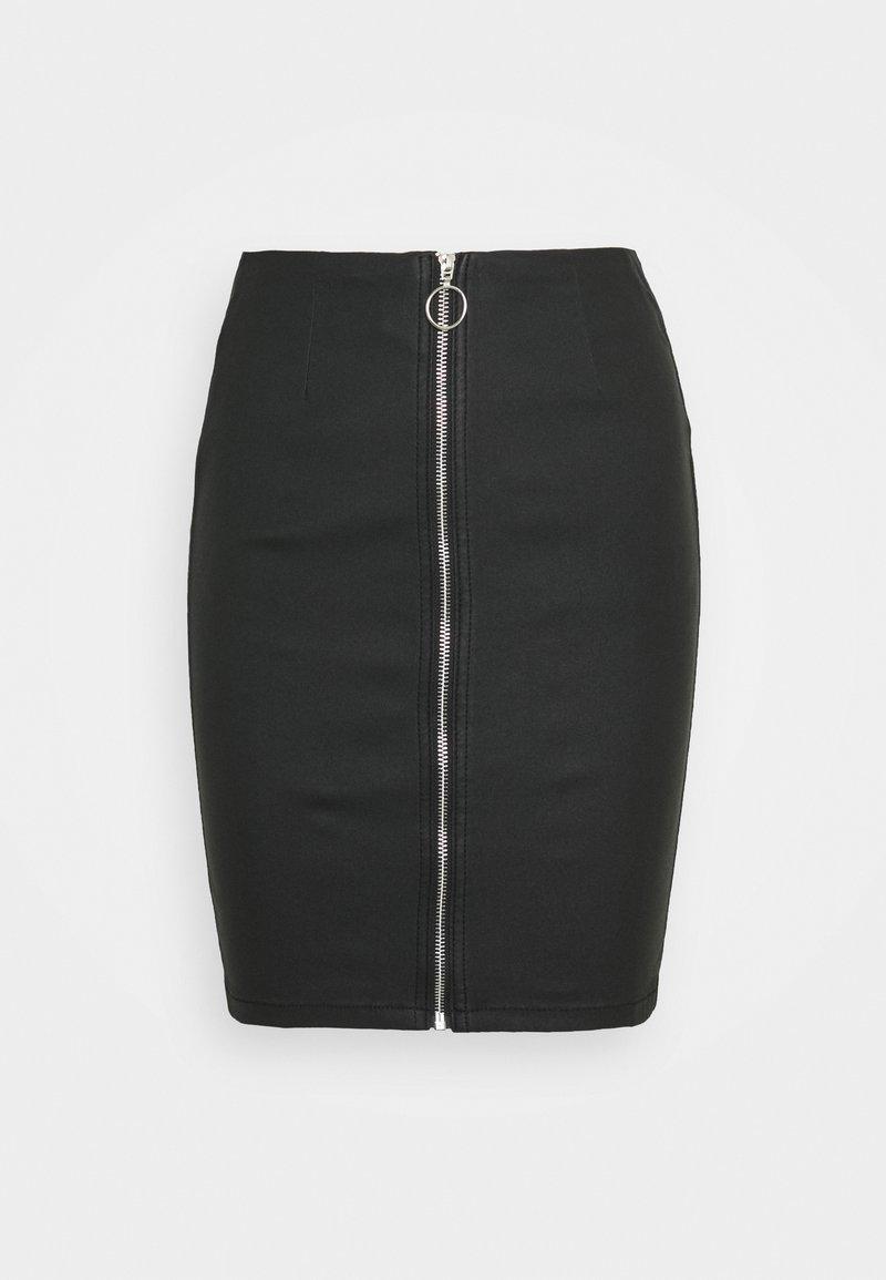 Pieces - PCROXY ZIP SKIRT - Pencil skirt - carry over