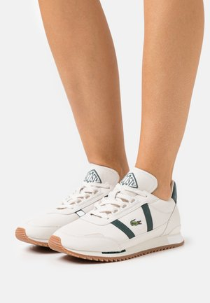 PARTNER RETRO - Baskets basses - offwhite/dark green