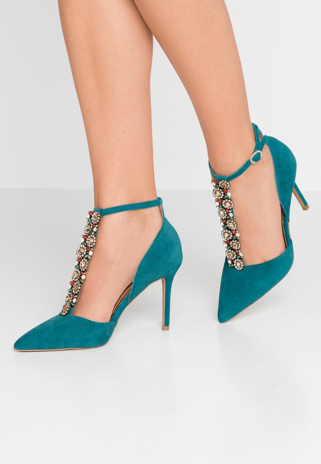 DARLA - High heels - teal