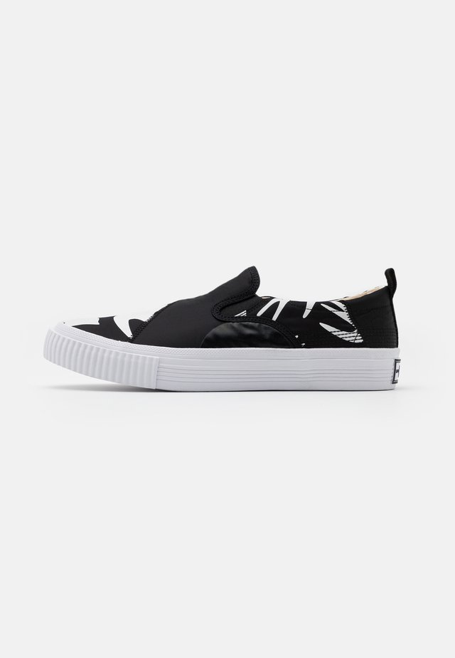 ORBYT MID - Trainers - black/white