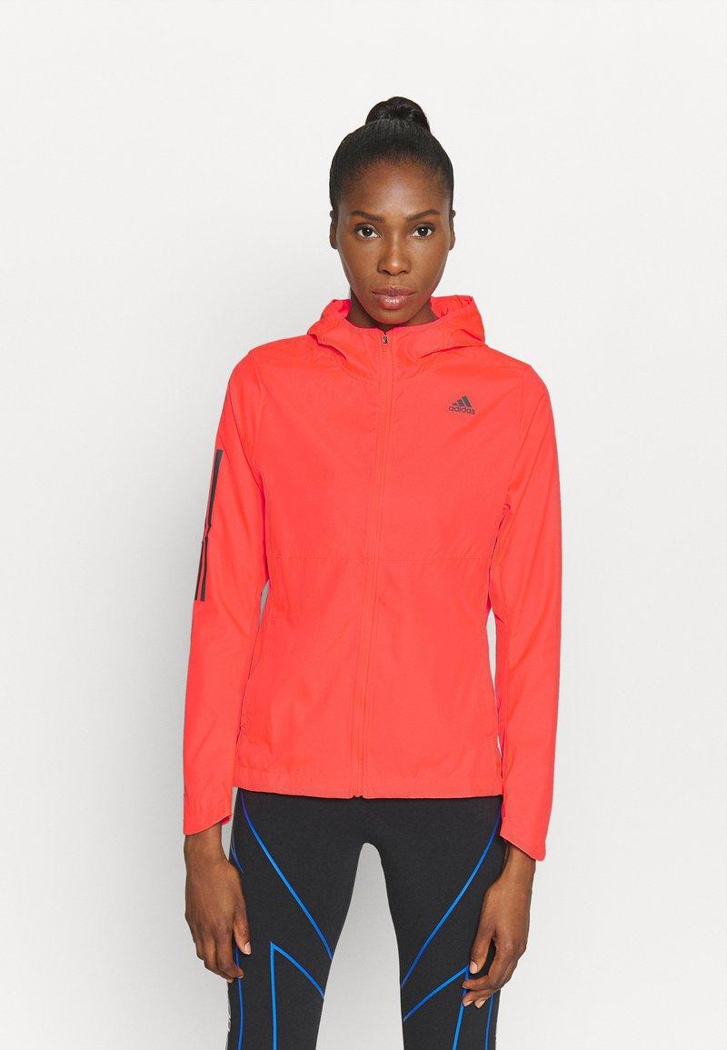 adidas Performance - OWN THE RUN - Training jacket - sigpink