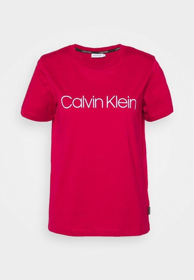CORE LOGO - Print T-shirt - red