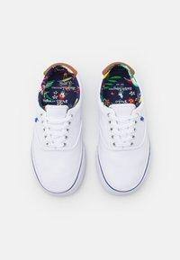 Polo Ralph Lauren - THORTON - Sneakersy niskie - white/heritage - 3