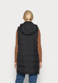 Opus - WAFA CASUAL - Waistcoat - black - 2
