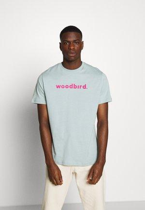 KARL LOGO TEE - T-shirt med print - mint