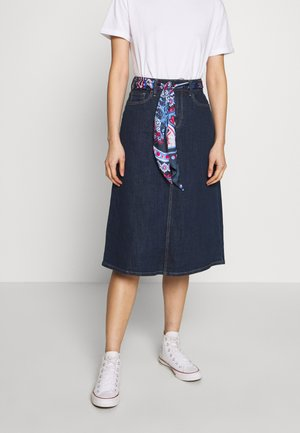 Pencil skirt - blue rinse