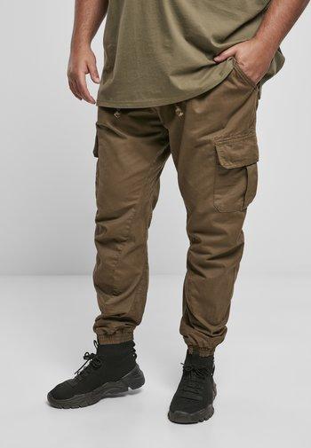 Cargo trousers - darkground