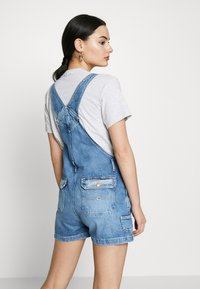 Tommy Jeans - DUNGAREE - Dungarees - blue denim - 2