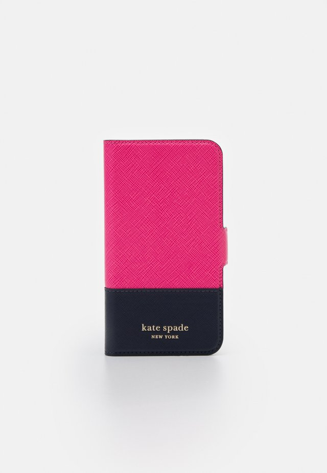 SPENCER FOLIO - Portacellulare - shocking magenta