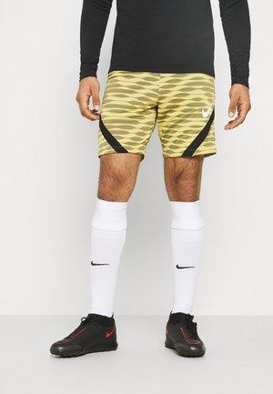 STRIKE SHORT - Sportovní kraťasy - saturn gold/black/black/white
