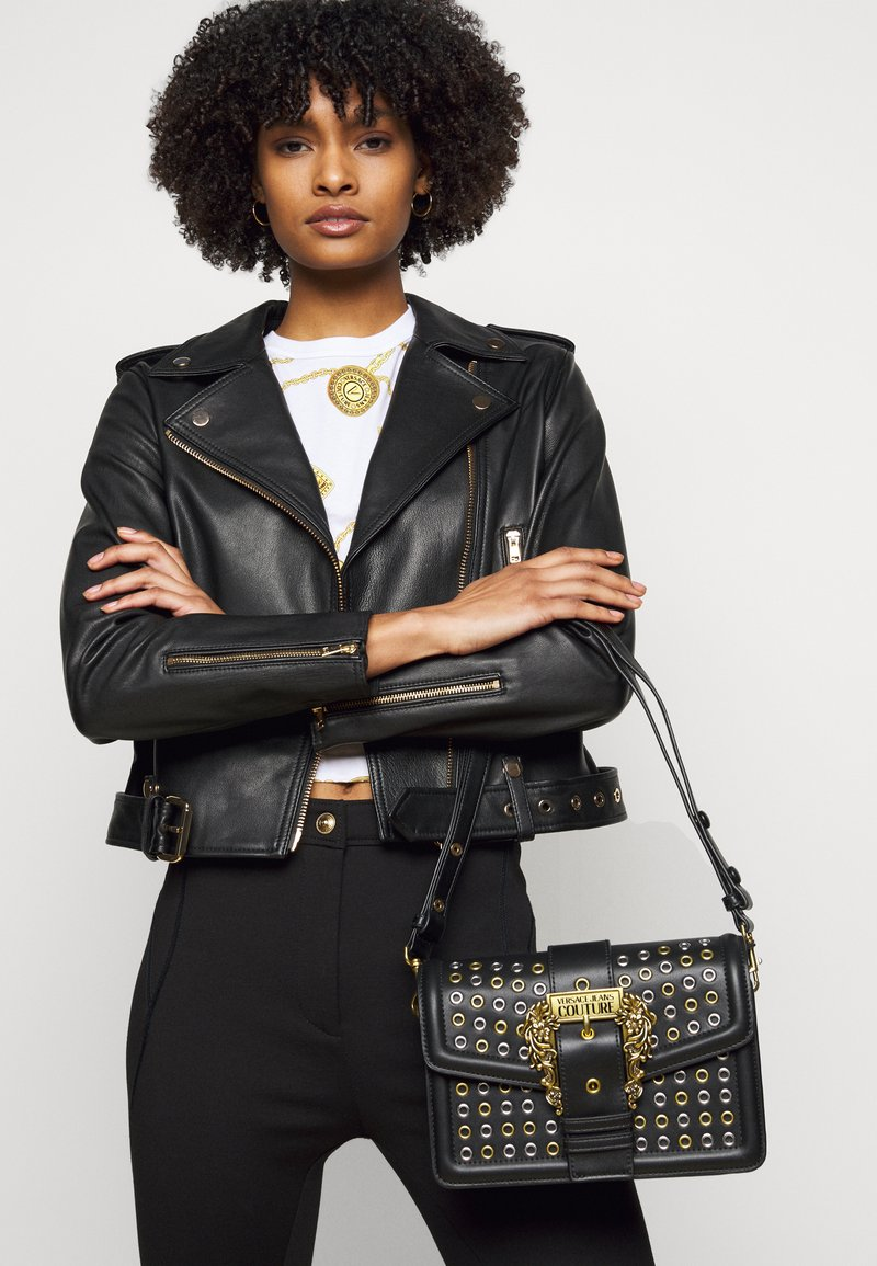 Versace Jeans Couture - SHOULDER BAG - Across body bag - nero