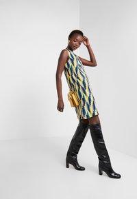 M Missoni - ABITO SENZA MANICHE - Day dress - yellow/blue - 1