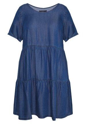 JNETE ABOVE KNEE DRESS - Denim dress - medium blue