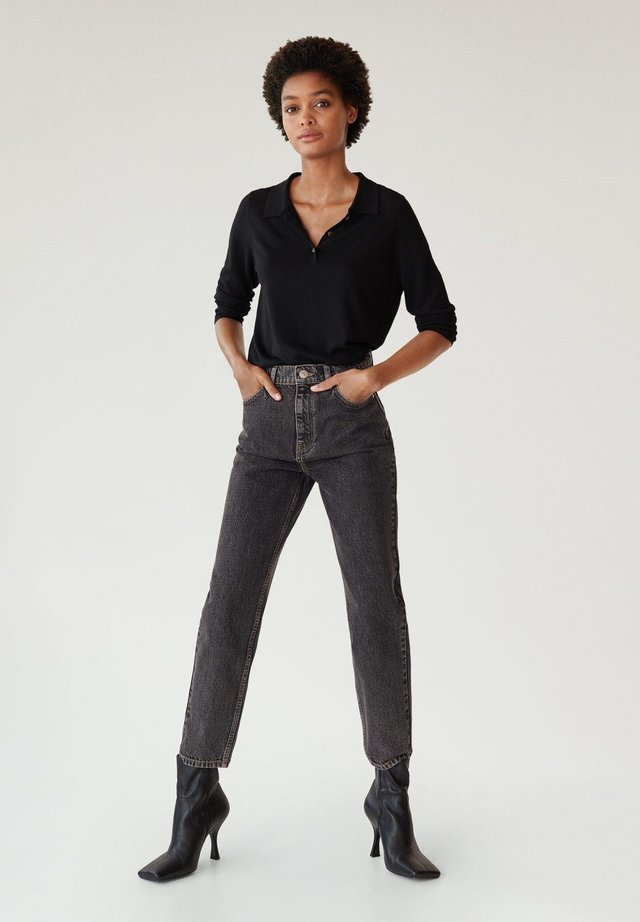 Straight leg jeans - denim grey