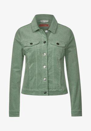 MIT KRAGEN - Summer jacket - grün