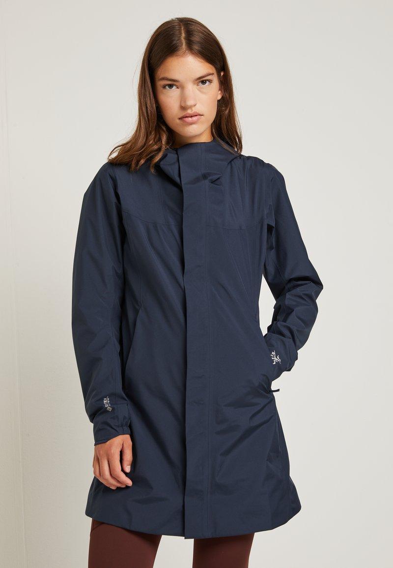 Arc'teryx - SOLANO COAT WOMENS - Waterproof jacket - cobalt moon