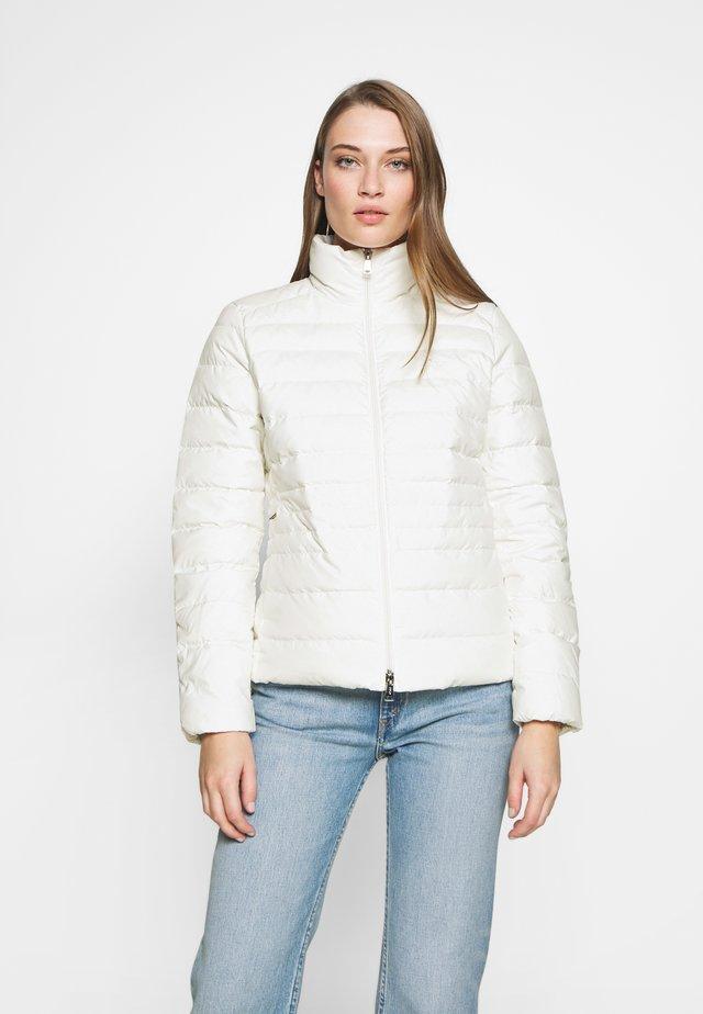 FILL JACKET - Daunenjacke - warm white