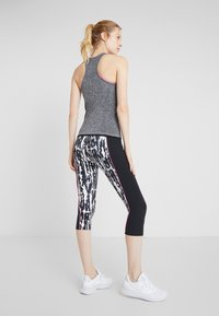 Even&Odd active - SEAMLESS VEST - Top - grey melange - 2
