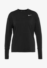 Nike Performance - CREW - Funkční triko - black/reflective silver - 7