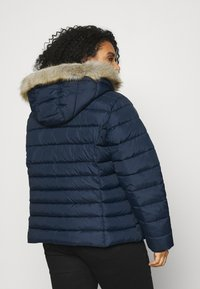 Tommy Jeans Curve - ESSENTIAL HOODED JACKET - Winter jacket - twilight navy - 2