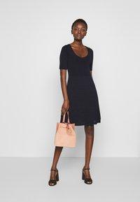 M Missoni - DRESS - Strikket kjole - dark blue - 1