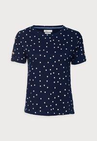 Springfield - BOTON - Print T-shirt - medium blue - 3