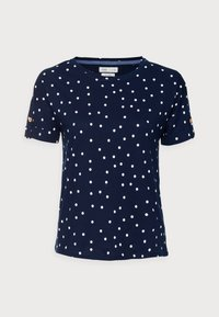 BOTON - Print T-shirt - medium blue