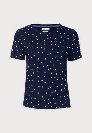 BOTON - T-shirt con stampa - medium blue