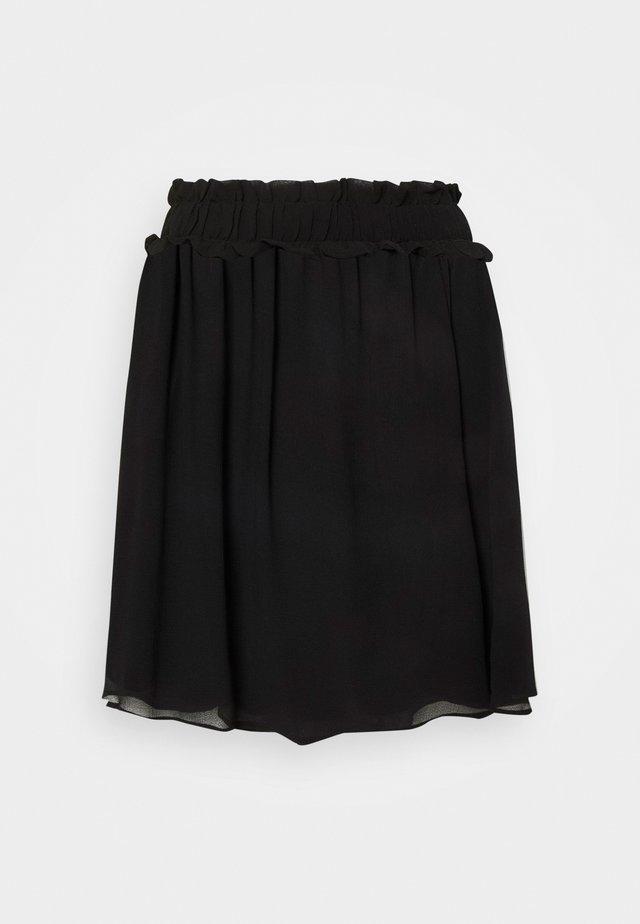 SLFSINA SHORT SKIRT - Mini skirt - black