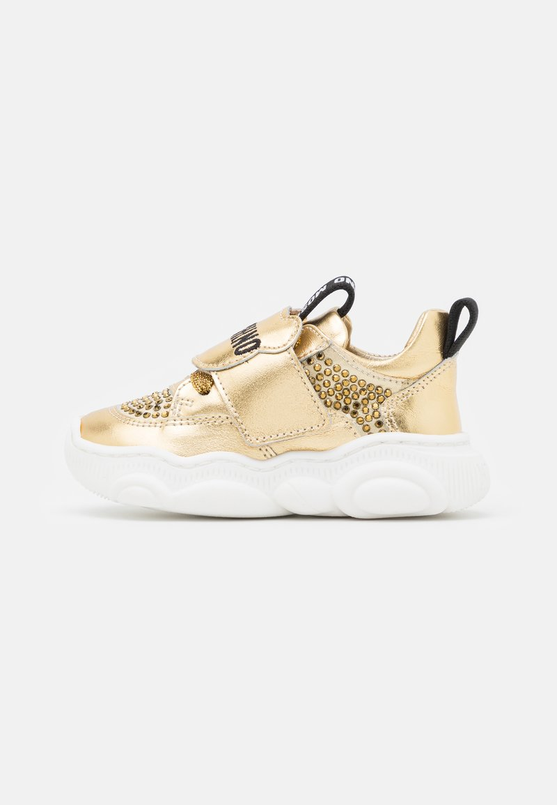 MOSCHINO - Trainers - gold