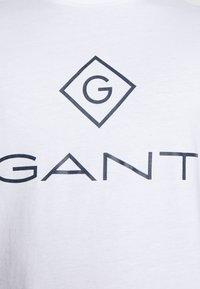 GANT - LOCK UP - T-shirt med print - white - 5