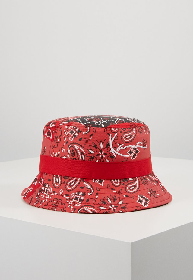 SIGNATURE BUCKET HAT - Hattu - red